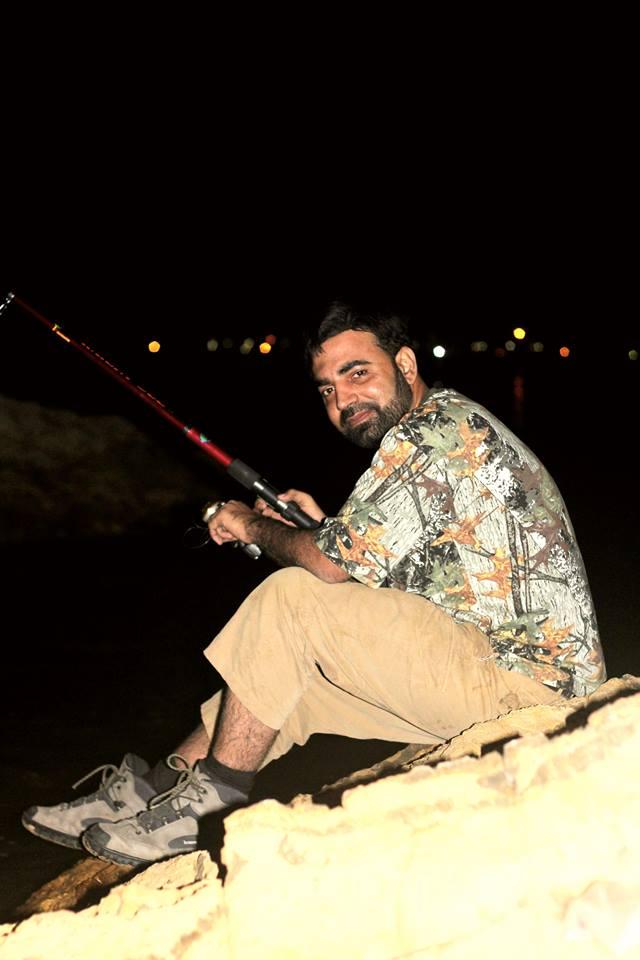 Fishing Mubarak Beach