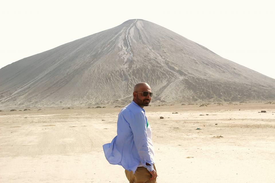 Chandragup Mud Volcano