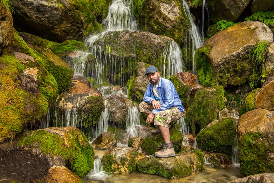 Lafed Waterfall Skardu